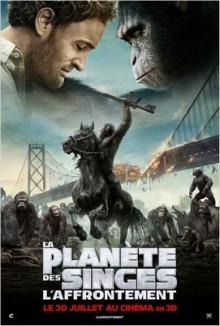 La planète des singes: l'affrontement