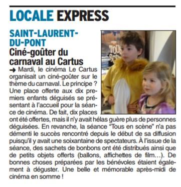 Cine carnaval 2017