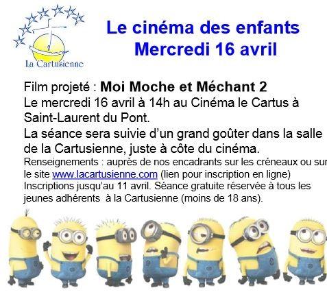 le cinema et les enfants
