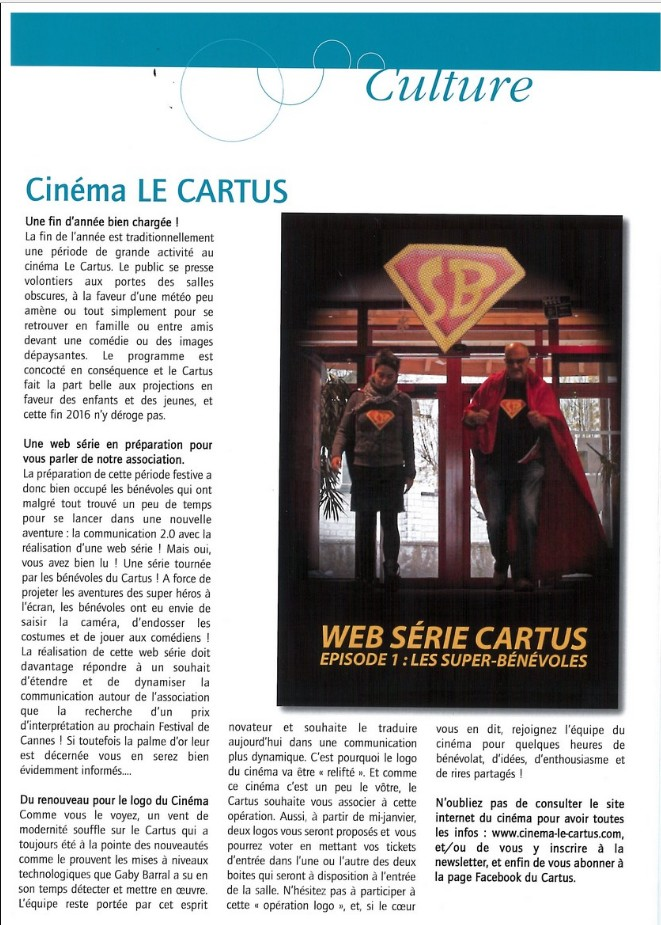 web serie cartus