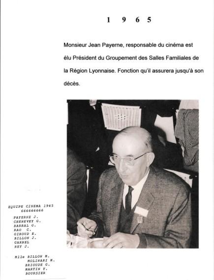 1965. Jean Payerne