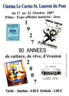 2007. les 80 ans du cinéma