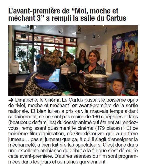 Dauphine Libéré. 2 juillet 2017