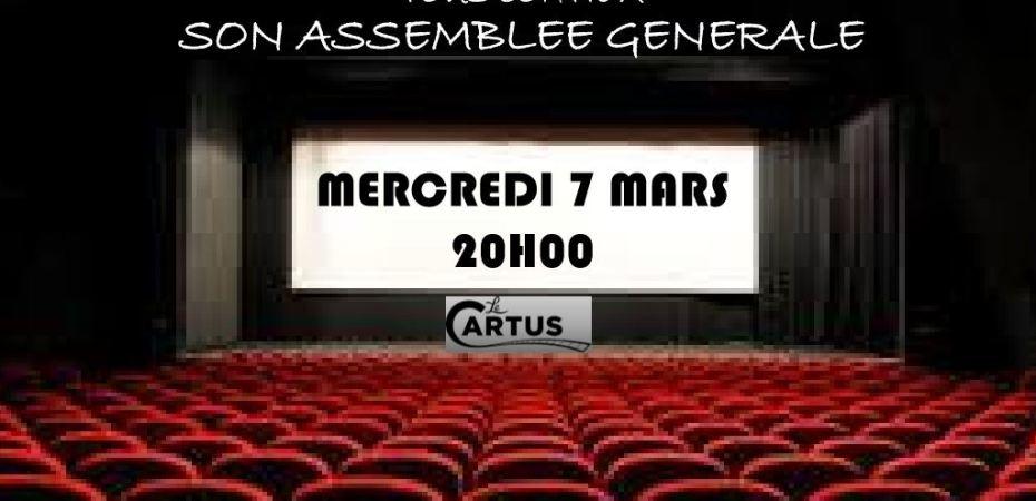 Assemblée générale mercredi 07 mars 2018 à 20 heures
