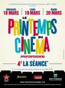 Le Printemps du Cinéma 18 au 20 mars 4 euros la séance