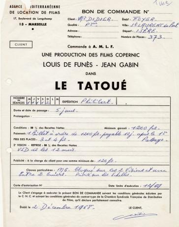 1968-contrat-location-film-le-tatoue
